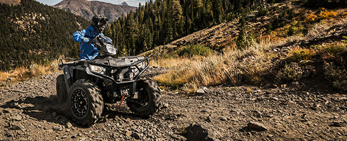Looking for a quad or side by side to lighten your load?